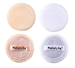 Par de esponjas para maquiagem EJ15 - Macrilan