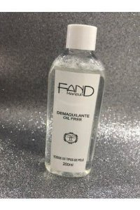 Demaquilante Oil Free - Fand