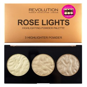 Paleta de Iluminador Rose Lights - Revolution
