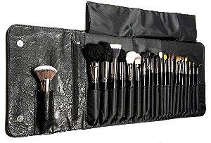 Kit 22 pincéis profissionais Luxury - New Face
