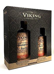 Kit Shampoo e Balm Terra - Viking