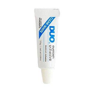 Mini cola para cílios postiços branca - DUO