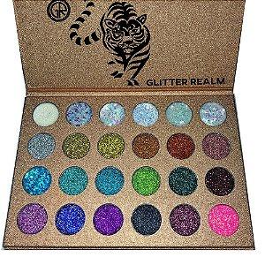 Paleta de Sombras e Glitter Majestic two - Glitter Realm