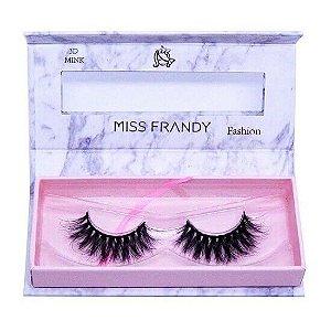 Cílios postiços efeito Mink 6D 22 (0408) - Miss Frandy