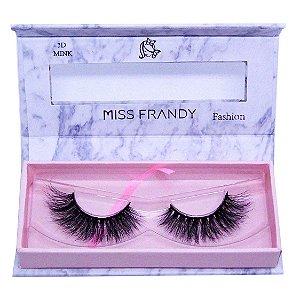 Cílios postiços efeito Mink 6D 26 - Miss Frandy