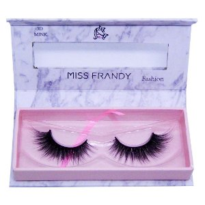 Cílios postiços efeito Mink 6D 34 (0405) - Miss Frandy