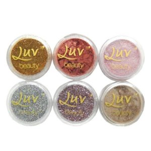 Pigmento e Glitter - Luv Beauty
