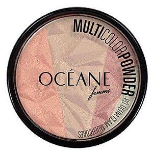 Blush Iluminador Ultra Glam Multicores - Oceane