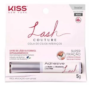 Cola para cílios Lash Couture Branca - First Kiss