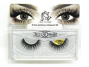 Caixa par de cílios postiços 3D P04 - Miss Frandy