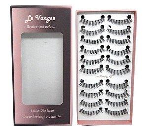 Caixa cílios postiços 10 pares #E2 - Le Vangee
