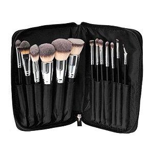 Kit 13 Pincéis profissionais - Day Makeup