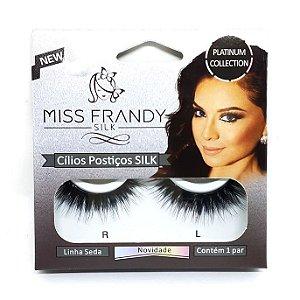Par de cílios postiços Linha Seda Silk 3D - Miss Frandy
