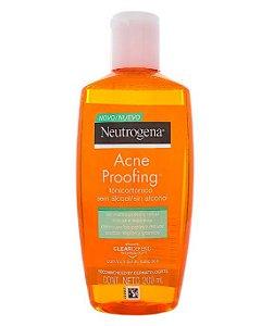 Tônico de Limpeza facial Acne Proofing - Neutrogena