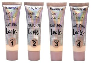Base líquida Natural Look Nude - Ruby Rose