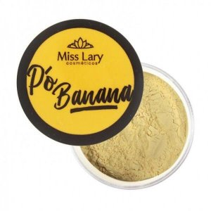 Pó Banana facial - Miss Lary