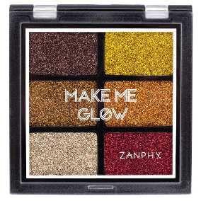Paleta de glitter Make me Glow 02 - Zanphy