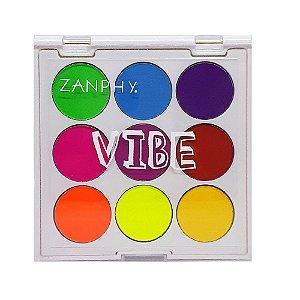 Paleta de sombras Neon Linha Vibe 2 - Zanphy