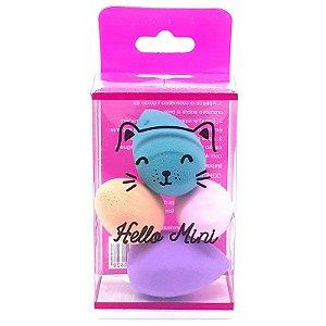 Kit mini esponjas em gota - Hello Mini