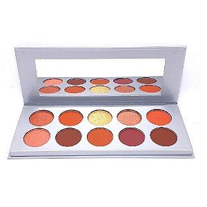 Paleta de Sombras Glamour A - SP Colors