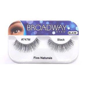 Caixa cílios postiços Fios Naturais #747M Broadway
