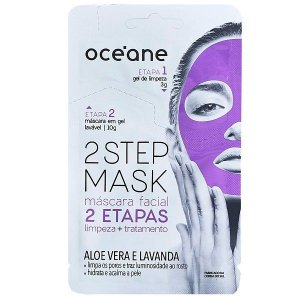 Máscara Facial Aloe e Vera e Lavanda - Oceane