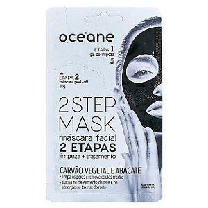 Máscara Facial Carvão Vegetal e Abacate - Oceane