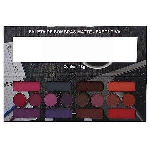 Paleta de sombras matte executiva - Ludurana
