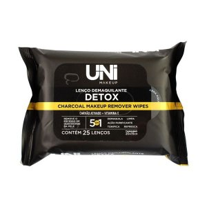 Lenço demaquilante Detox - Uni Makeup