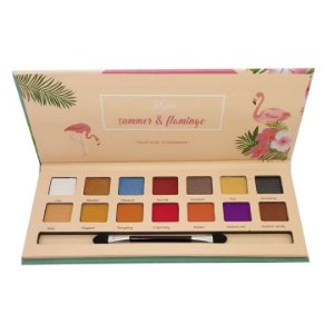 Paleta de sombras Summer & Flamingo cor 1 - Mylife