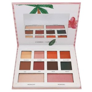 Paleta de sombras e iluminadores Love - Mylife