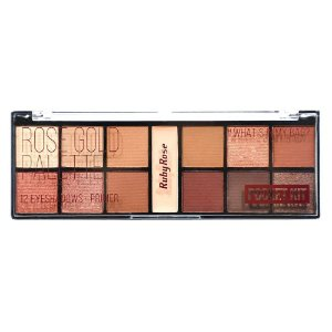 Paleta de sombras Pocket Rose Gold - Ruby Rose