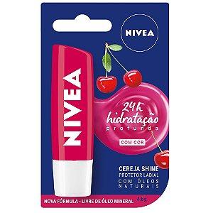 Protetor labial Cereja Shine - Nivea