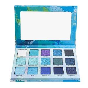 Paleta de sombras Spotlight Blue - Luisance