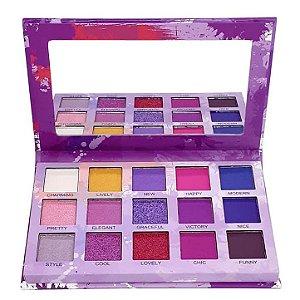 Paleta de sombras Spotlight Purple - Luisance