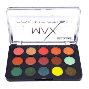 Paleta de sombras Max Connection B - SP Colors