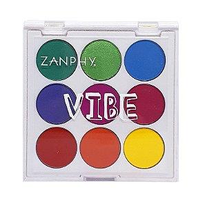Paleta de sombras Neon Linha Vibe 3 - Zanphy