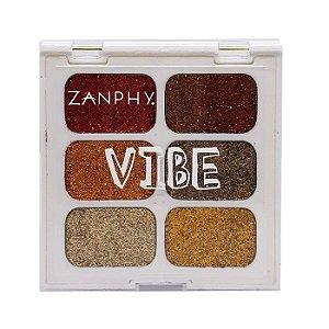 Paleta de glitter 3 linha Vibe - Zanphy