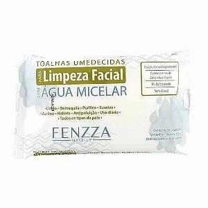 Lenço para limpeza facial com água micelar - Fenzza