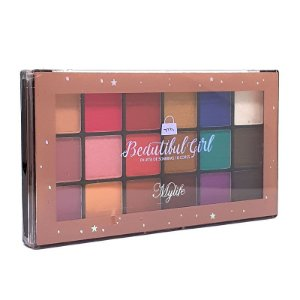 Paleta de sombras Beautiful Girl 1 - Mylife