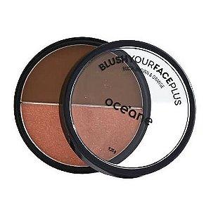 Blush Brown & Orange - Oceane