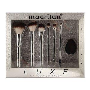 Kit de pincéis Luxe - Macrilan