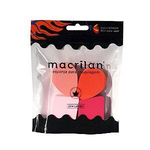 Qaurteto de esponjas EP03 - Macrilan
