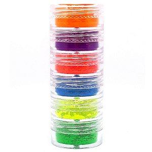 Torre com 6 pigmentos Neon