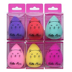 Esponja em gota puff - Hello Mini