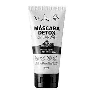 Máscara detox de carvão - Vult