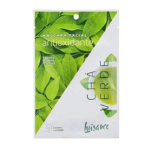 Máscara facial Antioxidante Chá Verde - Luisance
