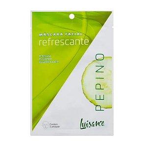 Máscara facial Refrescante Pepino - Luisance