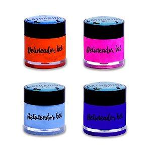 Delineador em gel colorido - Catharine Hill