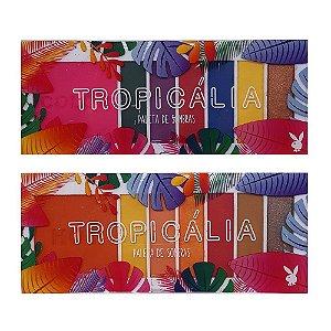 Paletas de Sombras Tropicália - Playboy